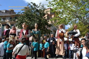 giants meeting-majorcan folklore-llucmajor